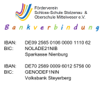 Bankverbindung Förderverein