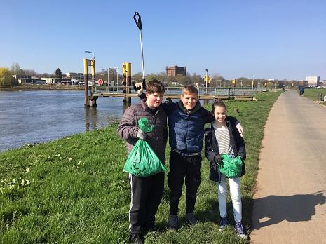 Beach-Cleanup2©Oberschule Mittelweser