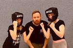 Girls boxing©Oberschule Mittelweser