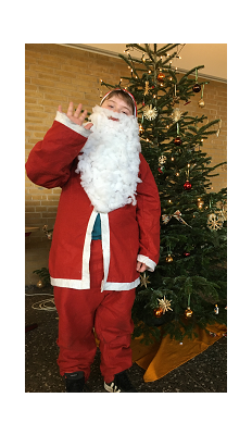 kl Weihnachtsmann 1©Oberschule Mittelweser