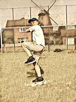 Paul als Pitcher