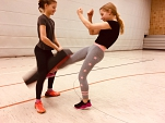 Snap kicking©Oberschule Mittelweser