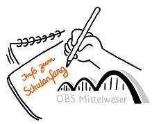 TB Info zum  Schulanfang©OBS Mittelweser